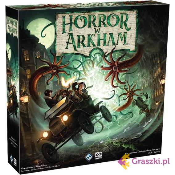 Horror w Arkham 3. Edycja | Galakta // darmowa dostawa od 249.99 zł // wysyłka do 24 godzin! // odbiór osobisty w Opolu